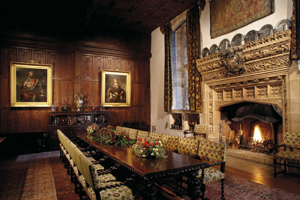 spotlight on the castle the dining hall hever castle